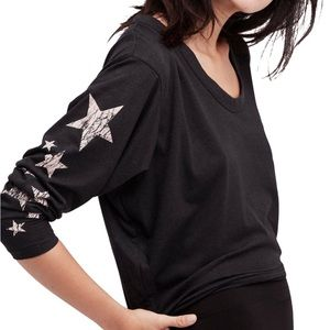 Free People Movement Star Graphic Top